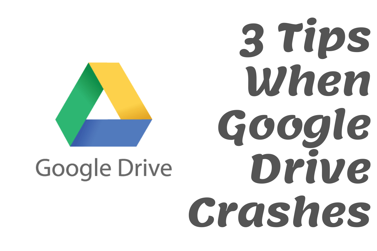 google drive crashes, cloud storage goes down